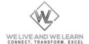 We Live & We Learn Logo